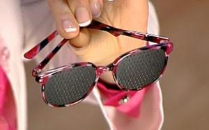 Перфорационные очки-тренажеры