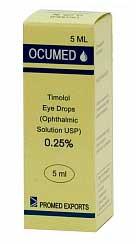 Глазные капли Окумед